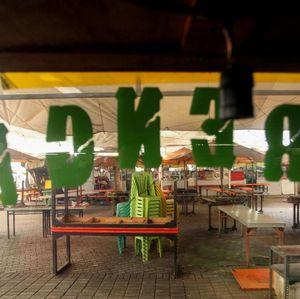 Potret Lenggang Jakarta yang Sunyi Saat Masa PSBB di Ibu Kota
