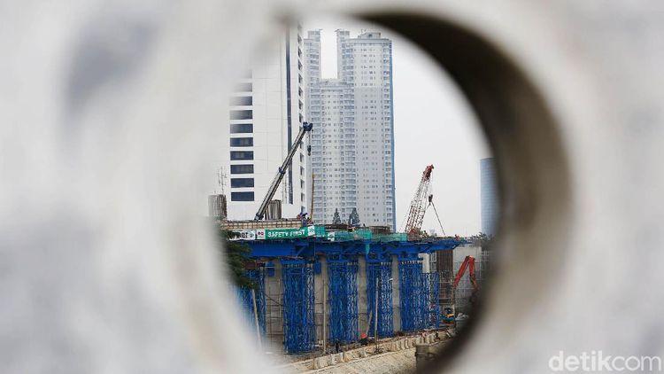 Proyek LRT Jabodebek Terus Dikebut