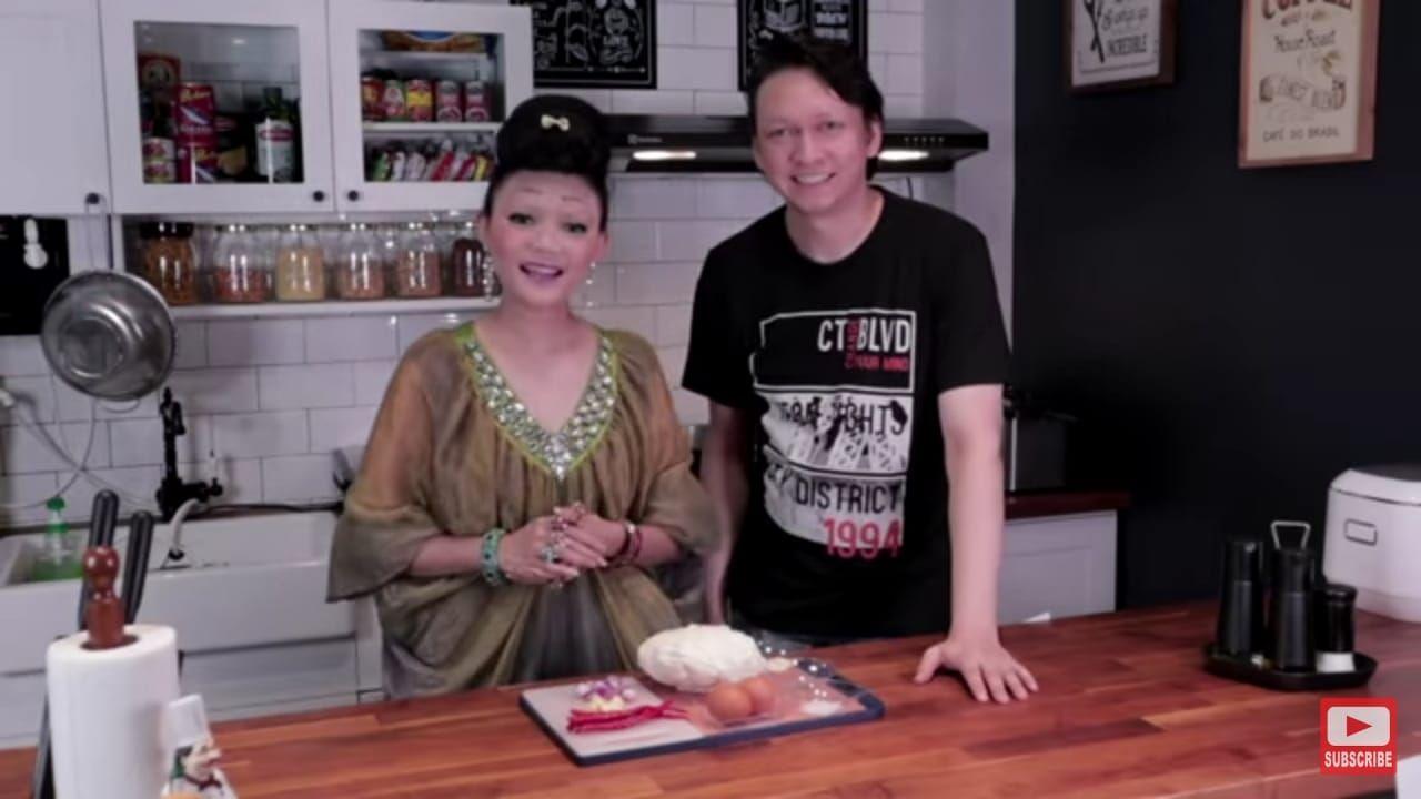 Rina Nose jadi chef 'kelabu'
