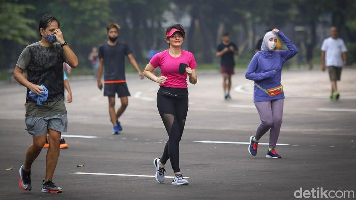 Ring road Stadion Utama Gelora Bung Karno (SUGBK) kembali dibuka setalah tiga bulan ditutup. Seperti apa kondisi terkininya?
