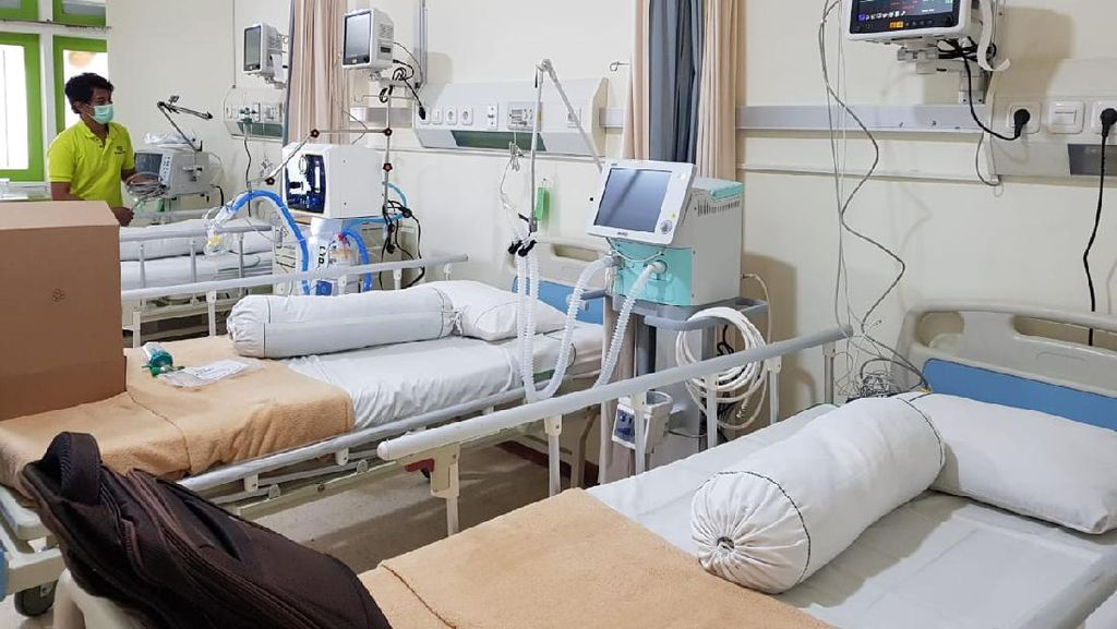 RSI A Yani Tambah 18 Bed Isolasi Bertekanan Negatif untuk Pasien Corona