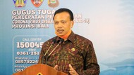 Update Kasus Corona di Bali: 524 Positif, 369 Sudah Sembuh