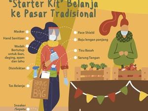 Starter Kit Belanja ke Pasar Tradisional