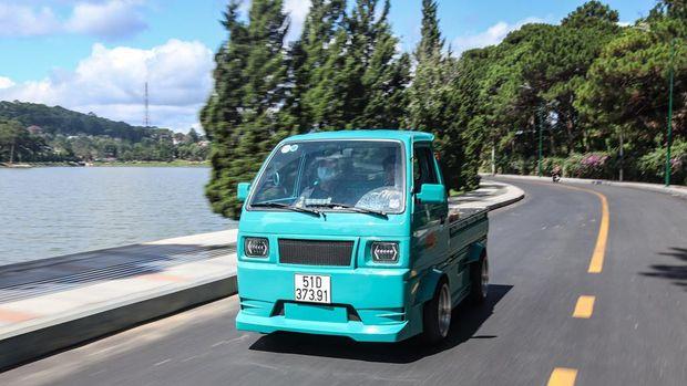Suzuki Carry Pikap dimodifikasi jadi gaul