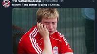 Meme-meme Kocak Chelsea Telikung Liverpool, soal Timo Werner
