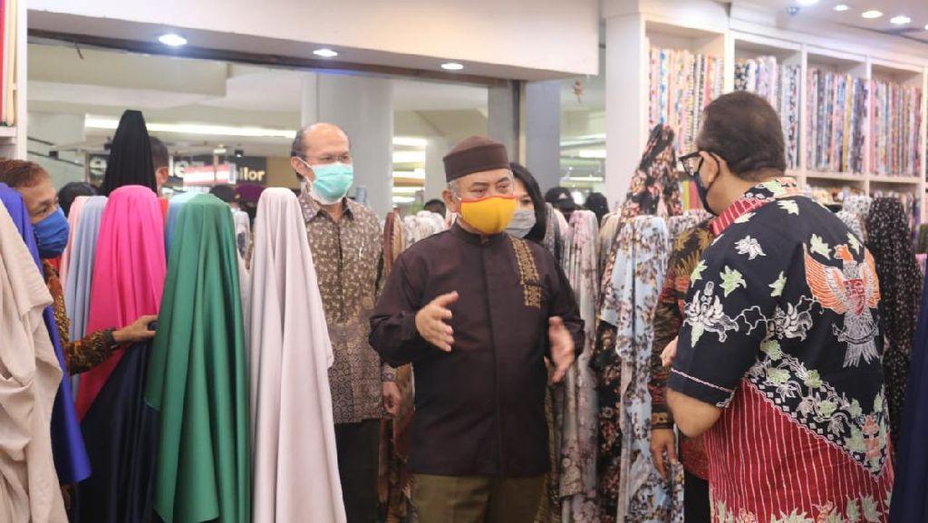 Walkot Pepen Kunjungi Mal di Bekasi Cek Simulasi Penerapan New Normal