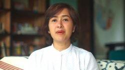 Video Ekspresi Sedih Widi Mulia Saat Bicara Kasus Dwi Sasono