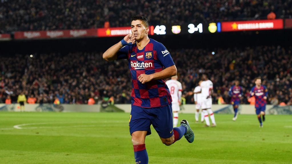 Klub David Beckham Bidik Luis Suarez dari Barcelona