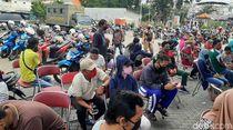 Reaktif Rapid Test di 2 Wilayah Surabaya Utara Lebih dari 10 Persen