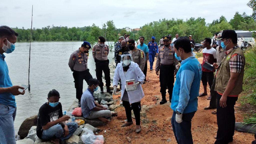 Nekat ABK China Tak Tahan Tersiksa hingga Lompat di Selat Malaka