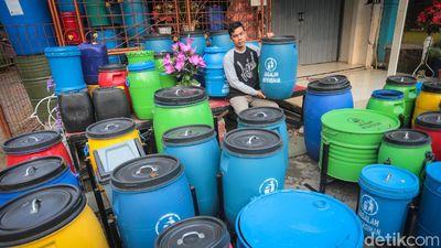 Inovasi Warna-warni Tempat Sampah Daur Ulang