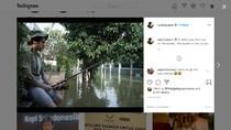 Pantai Mutiara Banjir, Anak Ahok Posting Mancing: 2020 Ocean Comes to You