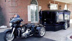 Ketika Harley-Davidson jadi Kereta Jenazah