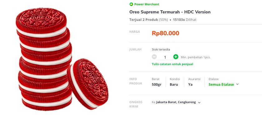 Oreo Supreme HDC