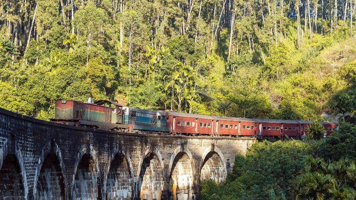 Ella station in Sri Lanka.