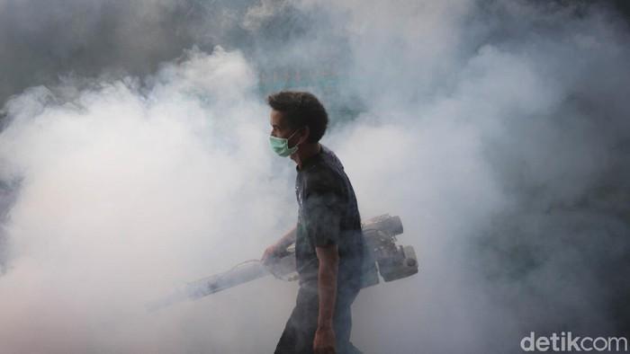 Jumlah kasus penyakit Demam Berdarah Dengue (DBD) di Indonesia terus meningkat di tengah pandemi Corona.