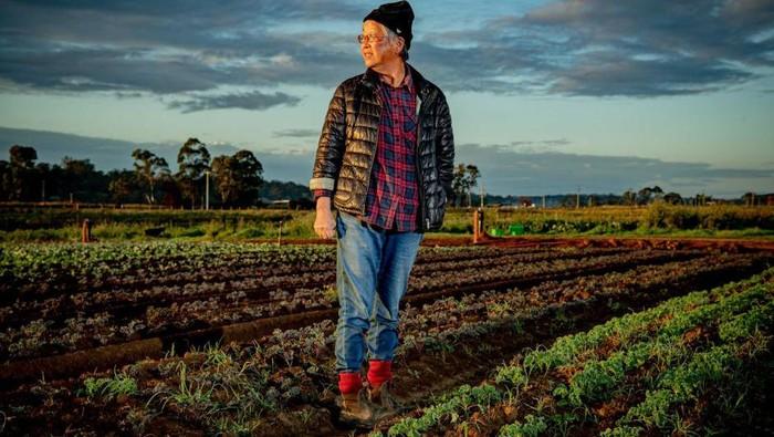 Western Sydney farmer Rita Kelman.