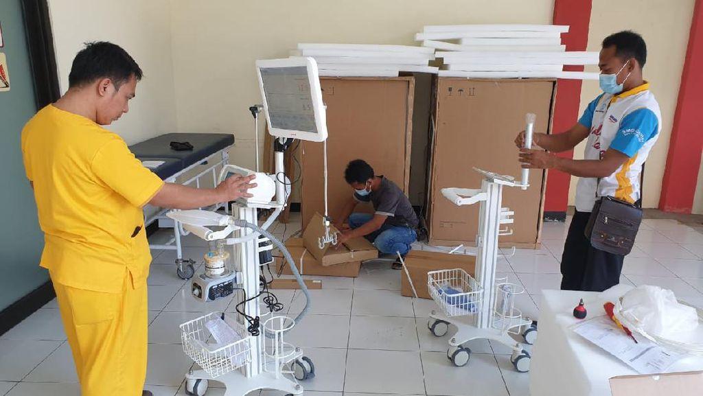 Wagub Emil Bersyukur Jatim Dapat Bantuan Banyak Pihak untuk Atasi COVID-19