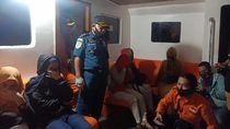 Long Boat Kandas di Perairan Maniang Sultra, 18 Orang Selamat
