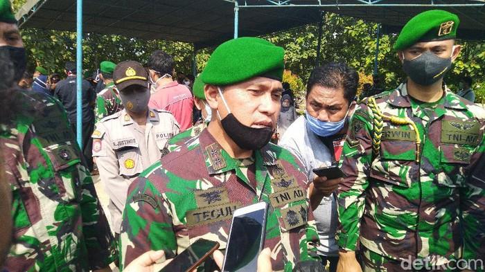 Komandan Pusat Penerbangan Angkatan Darat (Danpuspenerbad) Mayjen TNI Teguh Pudjo Rumekso