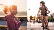 Pro-Kontra Olahraga Pakai Masker, Pelari dan Pesepeda Angkat Bicara