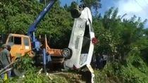 Ambulans di Bengkulu Tergelincir ke Parit, 1 Pasien Tewas