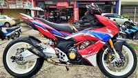 Modifikasi Honda Supra GTR 150 ala Negeri Jiran