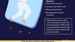 Masing-masing orang punya posisi tidur favorit. Meski telentang disebut posisi paling sehat, posisi lain juga tetap punya manafaat.