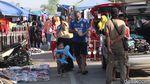 Potret Keramaian di Pasar Kaget Majalaya Bandung