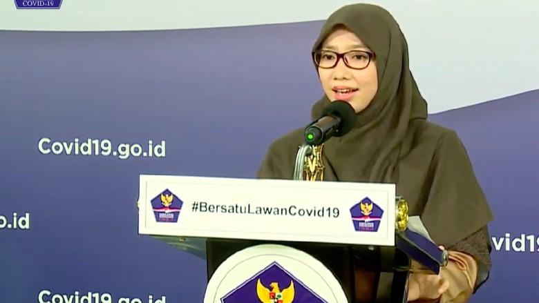 Anggota Tim Pakar Gugus Tugas Percepatan Penanganan COVID-19, Dewi Nur Aisyah. (Dok BNPB Indonesia)