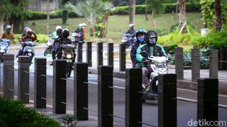 Zona Merah Jakarta untuk Ojol