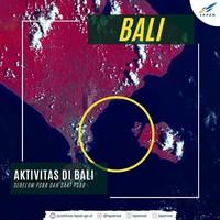 Lapan menggunakan citra dari Satelit LAPAN-A3/LAPAN-IPB. Satelit tersebut berhasil memotret aktivitas penyeberangan kapal dari Bali menuju ke Nusa Penida dan sebaliknya. (dok. Facebook)
