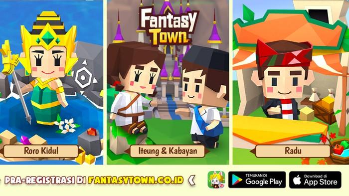 Garena membawa budaya lokal Indonesia di dalam game terbarunya yang bernama Fantasy Town. Karakter legenda Ratu Pantai Selatan Nyi Roro Kidul pun jadi andalan di game tersebut.