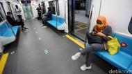 Penumpang MRT Turun Imbas PSBB Jakarta, Begini Datanya
