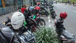 Ojol Kembali Kuasai Bahu Jalan di Jakarta