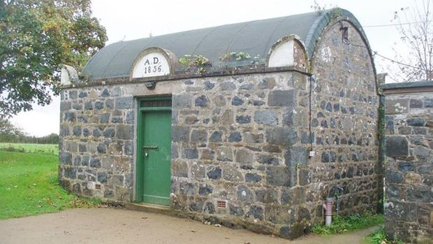 Jail on Sark  Smallest Prison in the World.