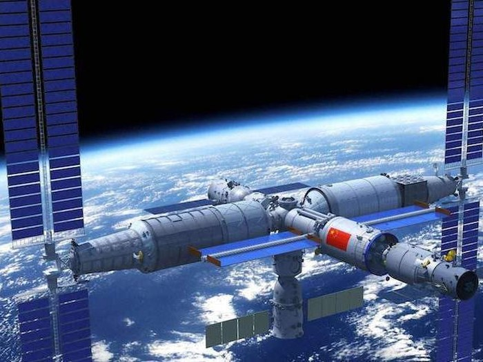 stasiun luar angkasa china