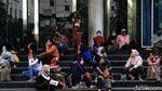Suasana Kerja PNS Pemkot Jakarta Utara di Masa PSBB Transisi