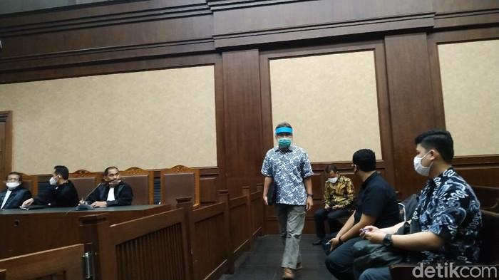 Vonis dua terdakwa kasus kondensat migas PT TPPI di PN Jakarta Pusat.
