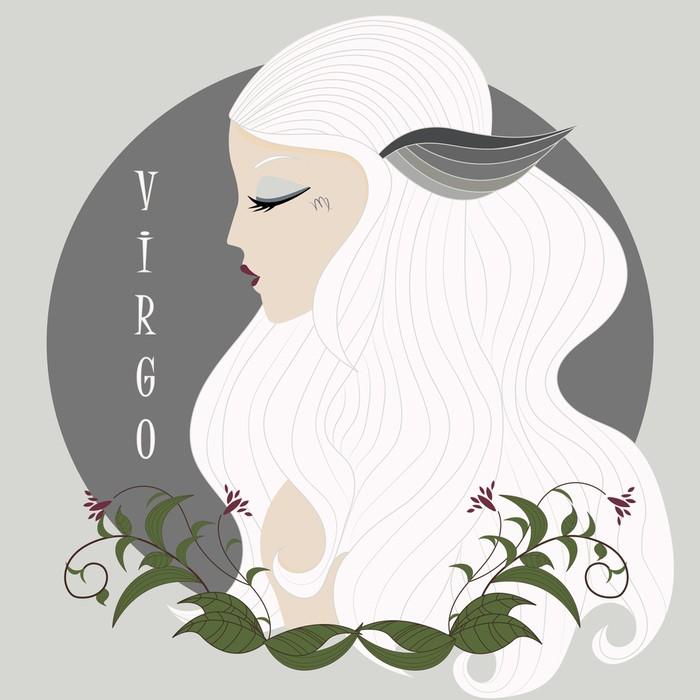 Zodiac girl Virgo