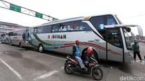 Bus AKAP Kembali Beroperasi di Terminal Bekasi