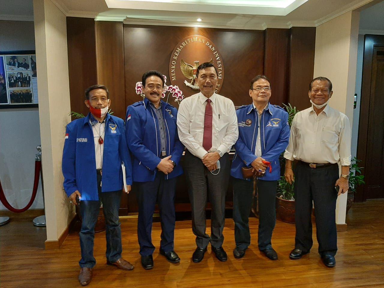 Forum Pendiri PD bertemu dengan Luhut Binsar (Dok. Istimewa)