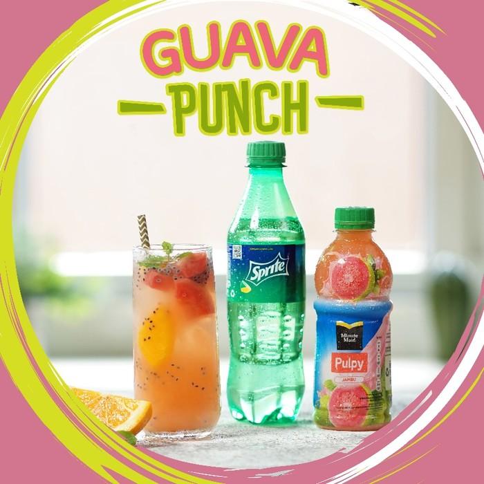 Guava Punch, Minuman Segar Saat Santai di Rumah Aja