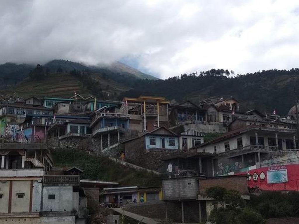 Desa di kaki Gunung Sumbing (Eko Susanto/detikcom)