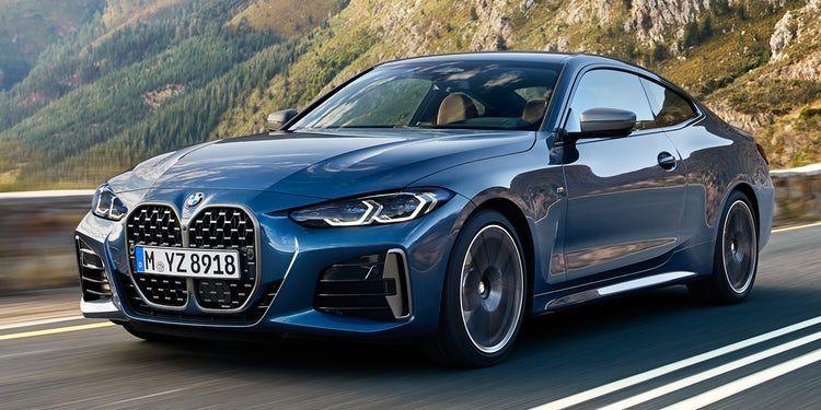 Ilustrasi mobil mewah BMW 4 series 2021
