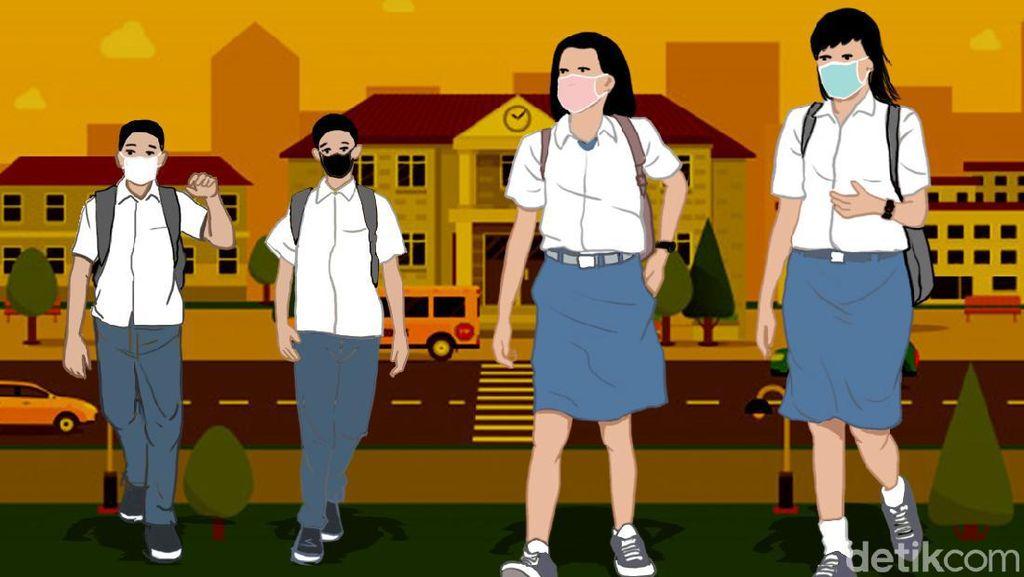Bandung Masuk Zona Biru, Disdik Belum Putuskan Gelar KBM Tatap Muka