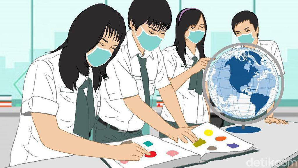 Ada Permintaan Masyarakat, Pemerintah Kaji Sekolah di Zona Kuning Dibuka
