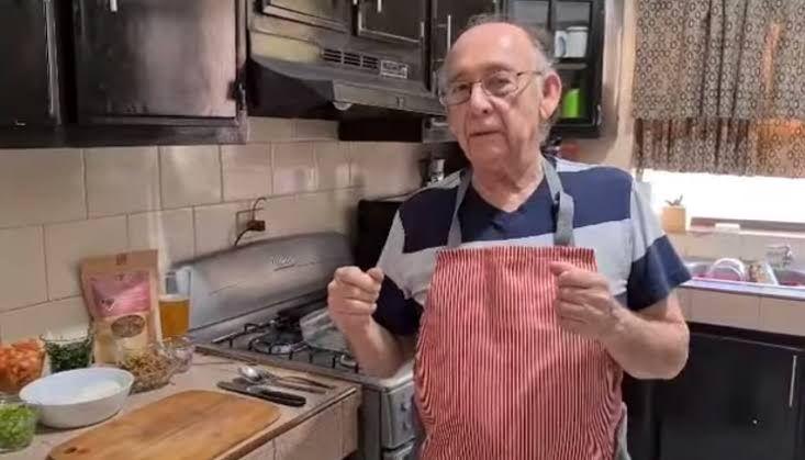 Kakek 79 tahun eksis jadi chef di YouTube