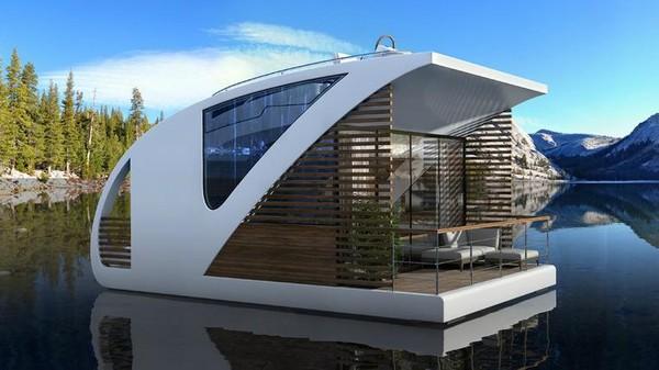 Unit Catamaran apartemen sendiri terdiri dari salon, dapur, kamar mandi, aula dengan ruang penyimpanan dan ruang tidur.