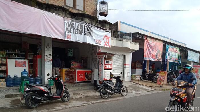 POM Mini di Klaten tempat pria beli BBM tanpa bayar